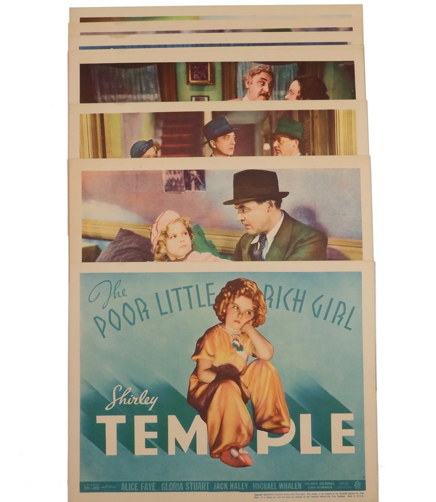 "HOLLYWOOD MOVIE LOBBY CARD SET - Shirley Temple in ""The"