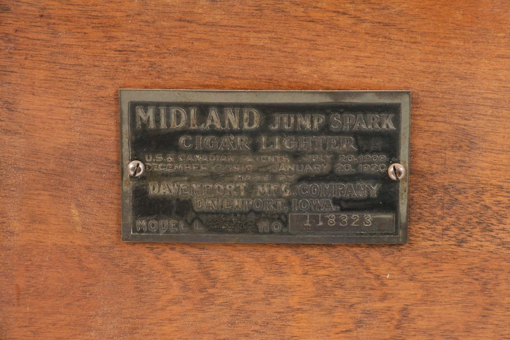 "CIGAR STORE SALES STIMULATOR - Countertop ""Midland Jump - 2"