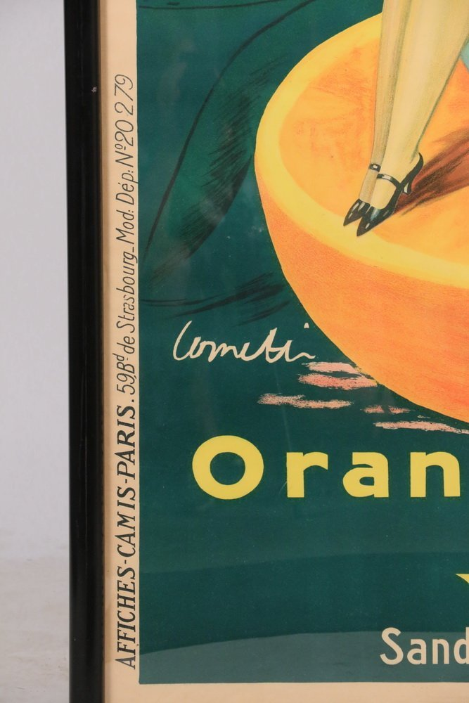 "ADVERTISING BROADSIDE POSTER - ""Orangeade Andre, Sandoz - 2"