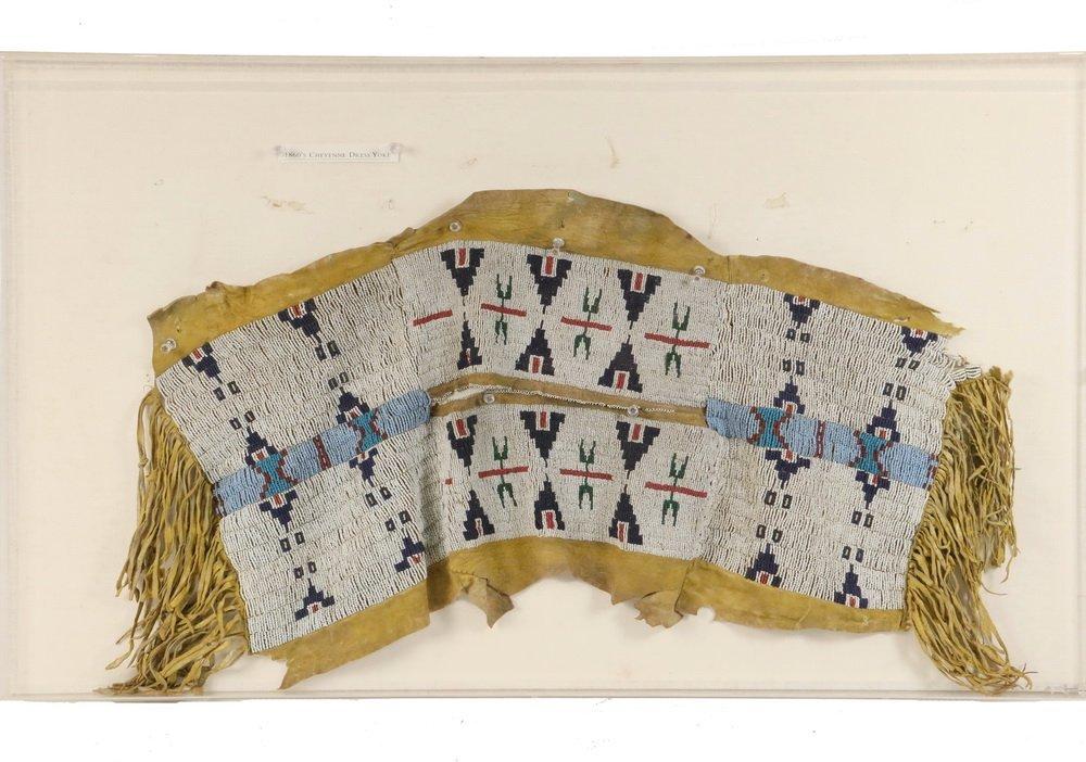NATIVE AMERICAN BEADWORK - Southern Cheyenne Indian