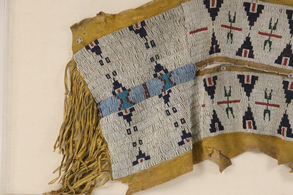 NATIVE AMERICAN BEADWORK - Southern Cheyenne Indian - 3