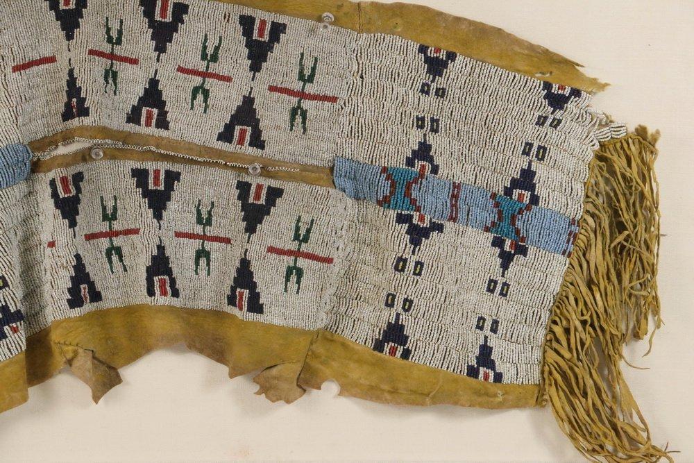 NATIVE AMERICAN BEADWORK - Southern Cheyenne Indian - 5