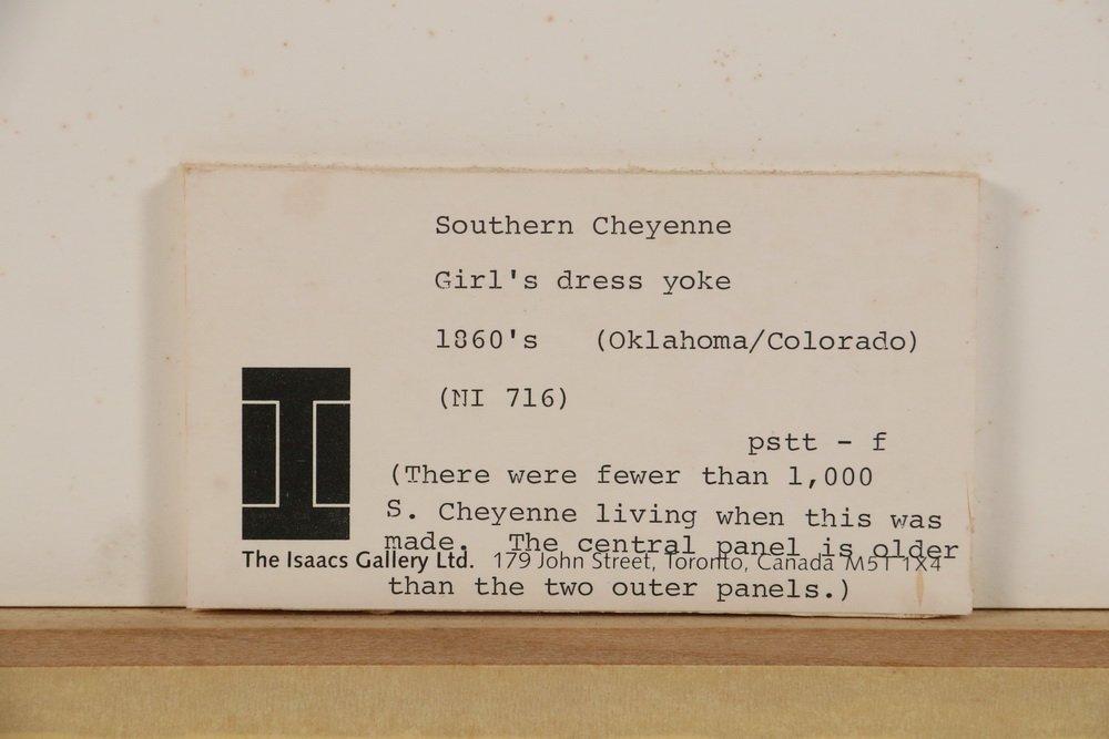 NATIVE AMERICAN BEADWORK - Southern Cheyenne Indian - 6
