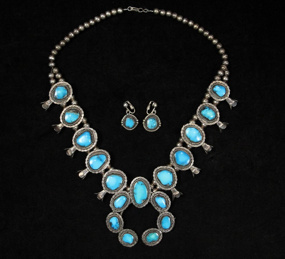 NECKLACE & EARRINGS - Contemporary Native American