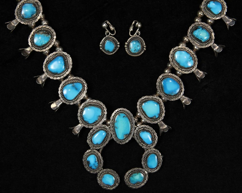 NECKLACE & EARRINGS - Contemporary Native American - 2