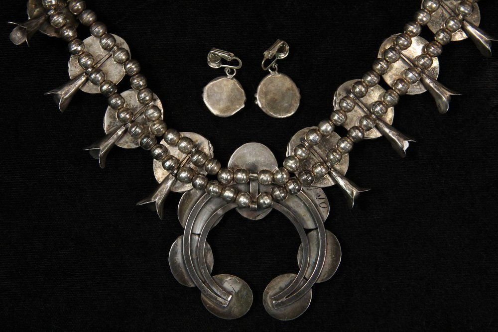 NECKLACE & EARRINGS - Contemporary Native American - 3