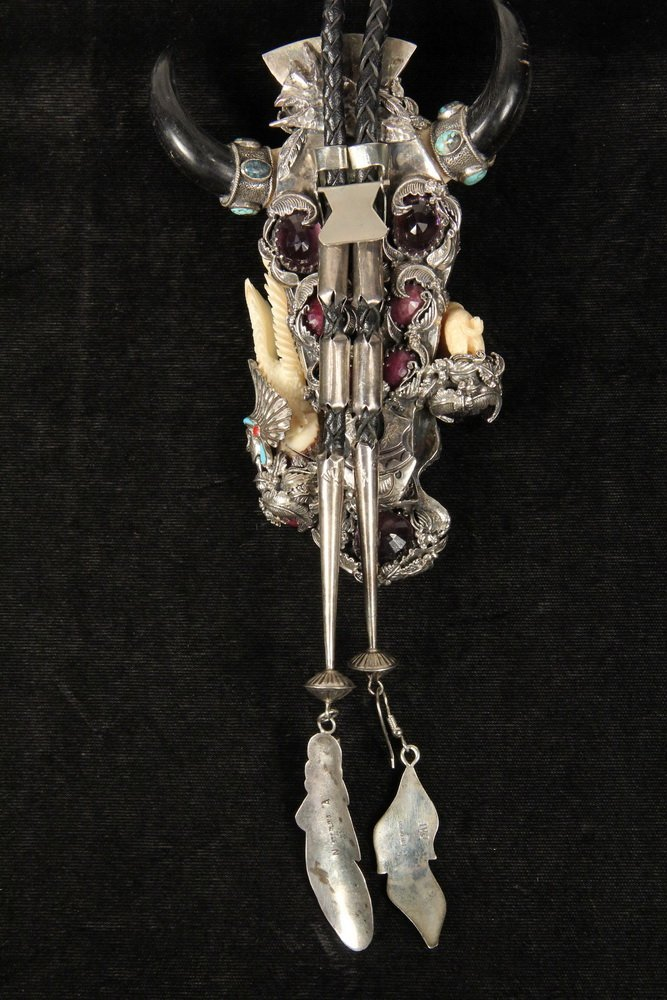 BOLO - Large Custom Designed Man's Bolo with central - 4