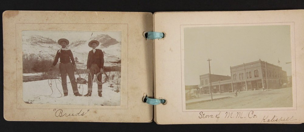 HISTORIC NATIVE AMERICAN PHOTOS: (1) CABINET CARD, (2) - 10