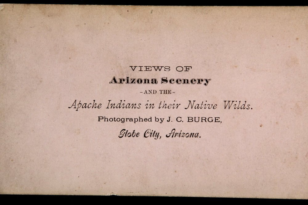 HISTORIC NATIVE AMERICAN PHOTOS: (1) CABINET CARD, (2) - 7