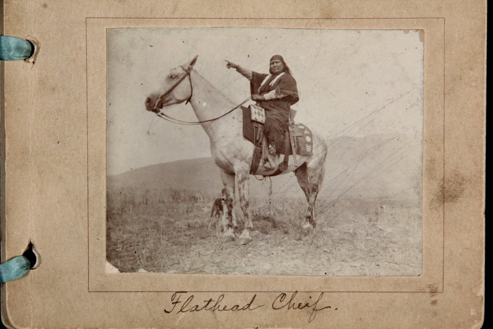 HISTORIC NATIVE AMERICAN PHOTOS: (1) CABINET CARD, (2) - 8