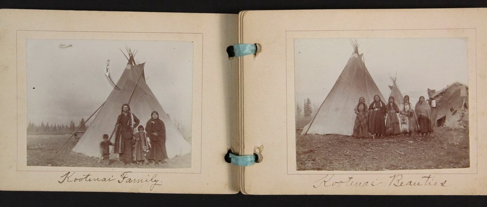 HISTORIC NATIVE AMERICAN PHOTOS: (1) CABINET CARD, (2) - 9