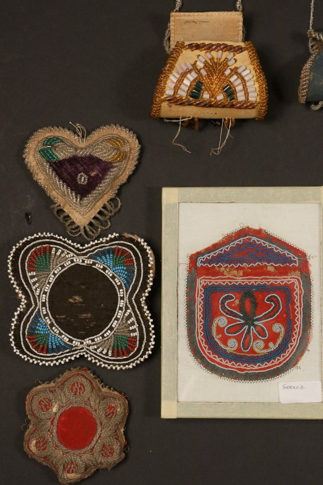 NATIVE AMERICAN BEADWORK - (11) Pcs of 19th & early - 2
