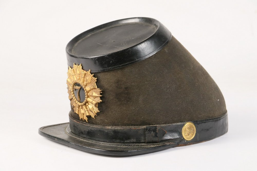 CIVIL WAR KEPI - Union Soldier's Parade Kepi with brass