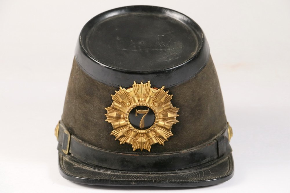 CIVIL WAR KEPI - Union Soldier's Parade Kepi with brass - 2