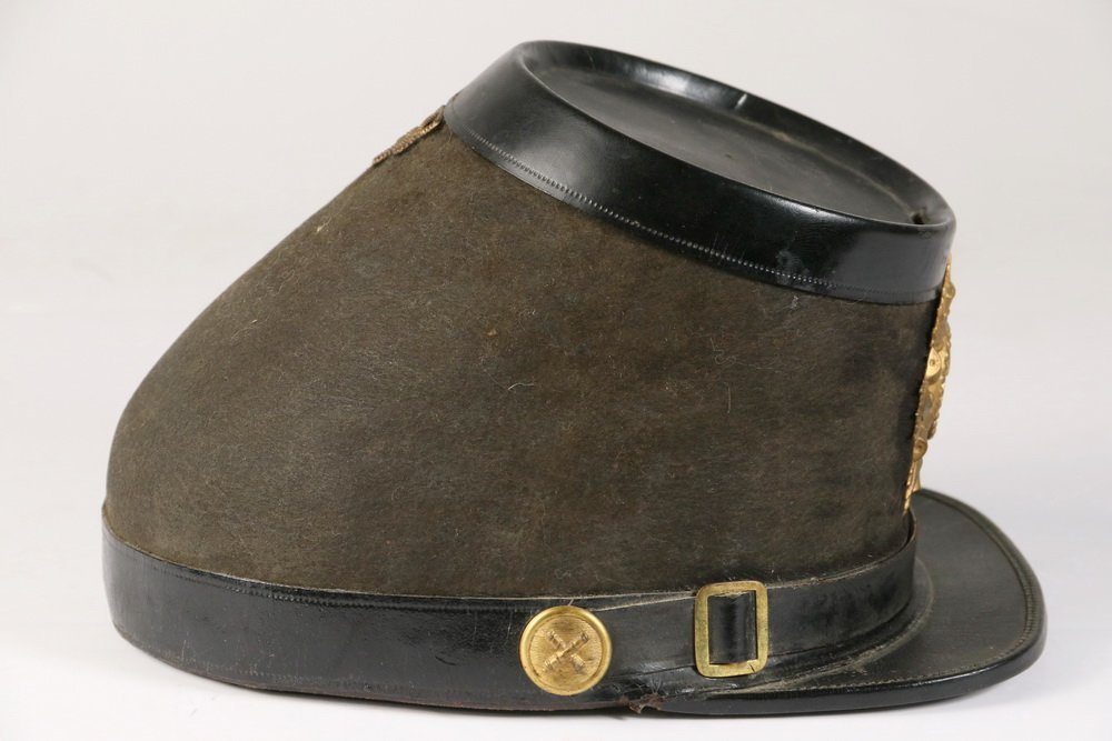 CIVIL WAR KEPI - Union Soldier's Parade Kepi with brass - 3