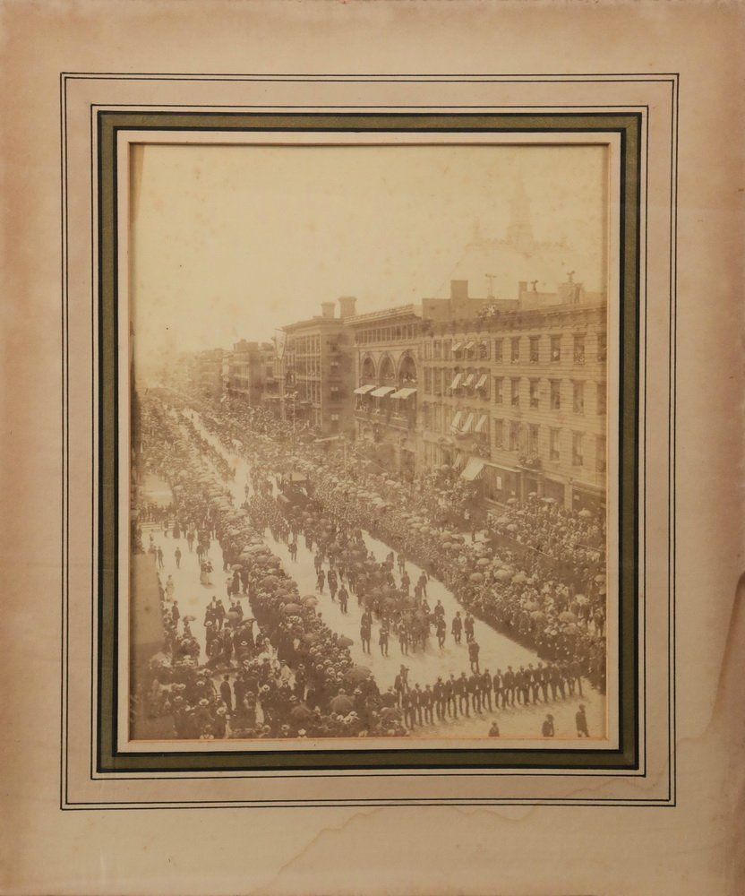 ORIGINAL PHOTO OF GRANT FUNERAL - Elephant Cabinet