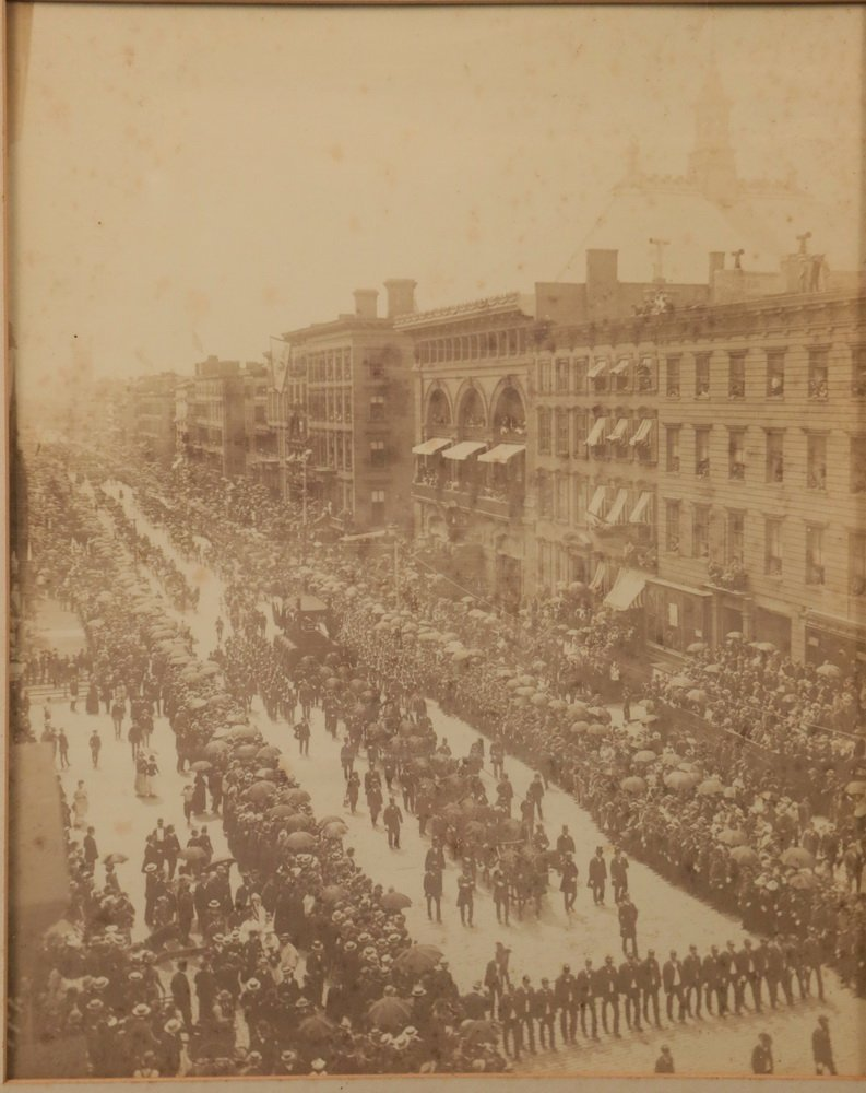 ORIGINAL PHOTO OF GRANT FUNERAL - Elephant Cabinet - 2