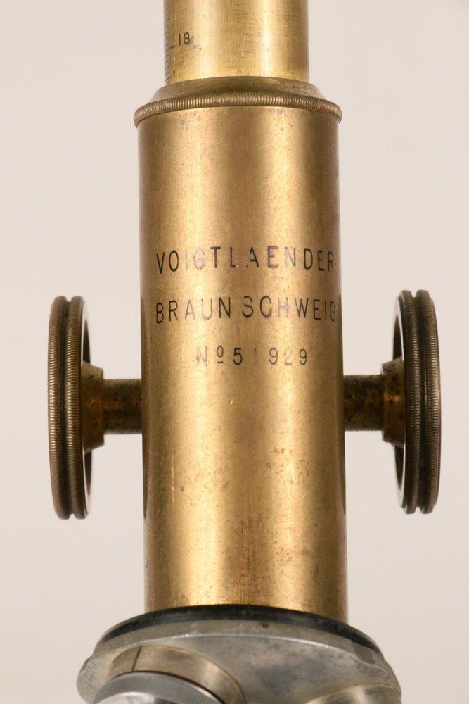 ANTIQUE MICROSCOPE - Voigtlander Braunschweig No. - 2