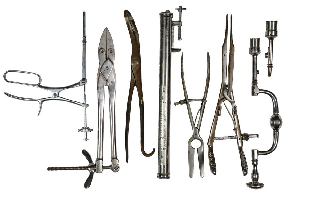 (7) VINTAGE MEDICAL INSTRUMENTS - All late Surgical,