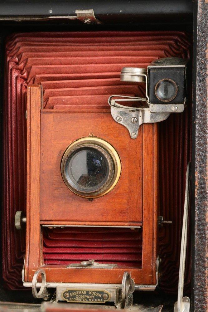 KODAK CAMERA & PORTABLE DARKROOM - Circa 1900 Kit in - 2