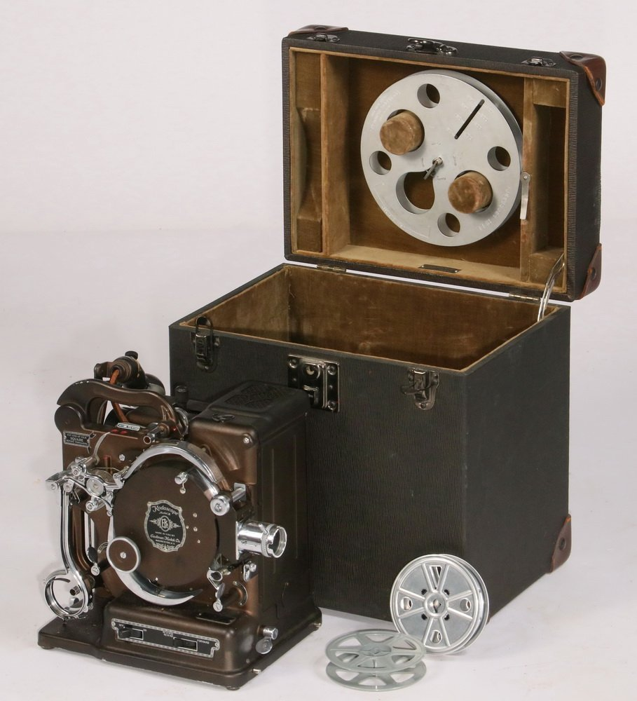 ANTIQUE FILM PROJECTOR - 'Kodascope Model B', by the