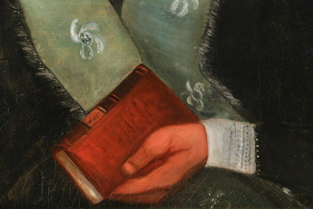 """WILLIAM OTIS BEMIS (MA, 1819-1883) - """"Mrs. Ch. Hall"""", a - 4"""