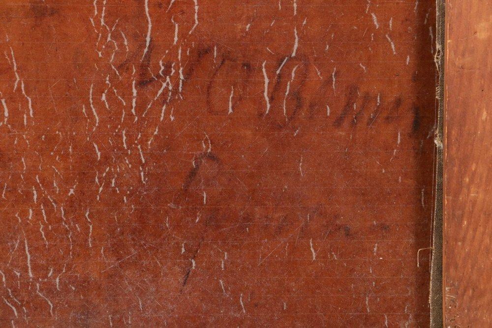 """WILLIAM OTIS BEMIS (MA, 1819-1883) - """"Mrs. Ch. Hall"""", a - 7"""