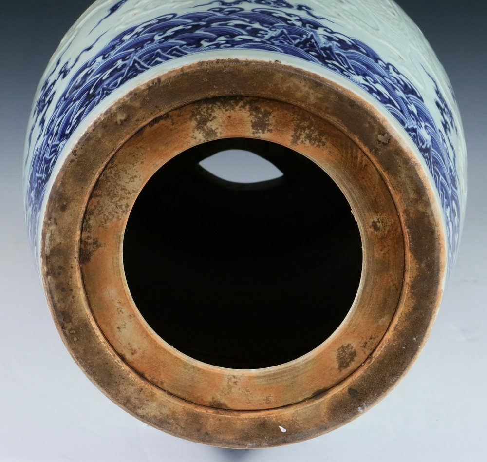 CHINESE PORCELAIN SEAT - Ming Dynasty Style, - 5
