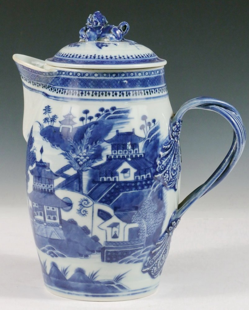 CIDER JUG - Early to Mid 19th c. Chinese Export Nanking