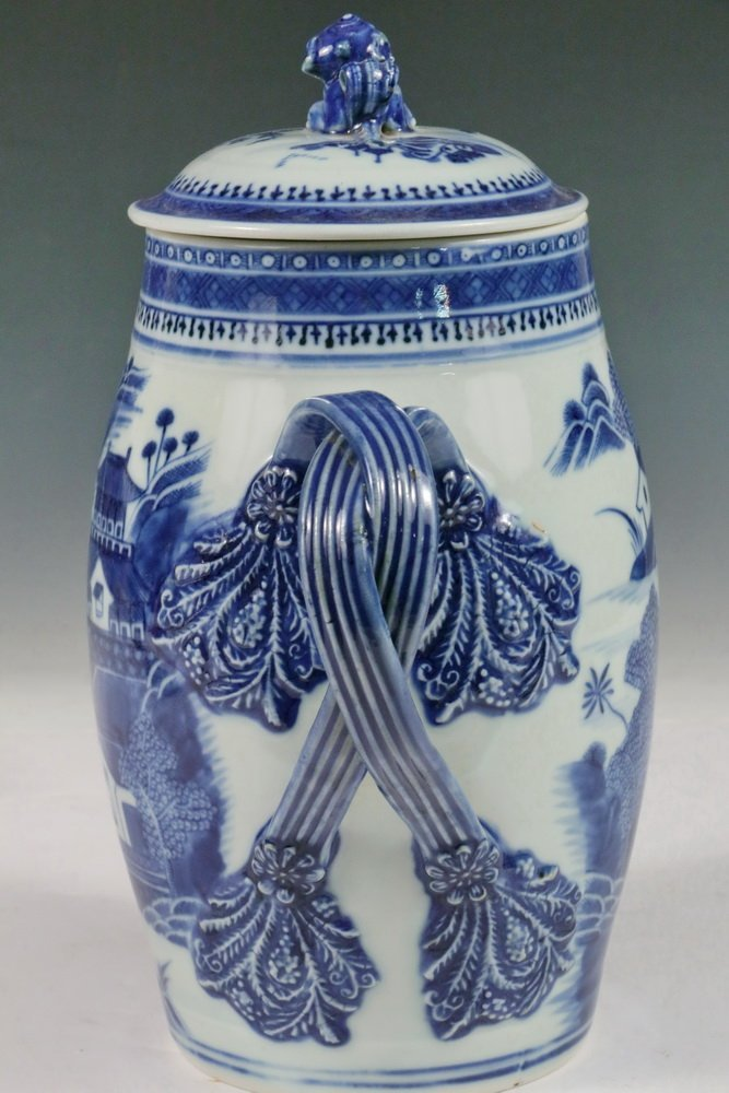 CIDER JUG - Early to Mid 19th c. Chinese Export Nanking - 4