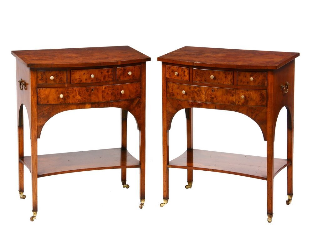 PAIR OF HEPPLEWHITE STYLE STANDS - Lovely, Delicate
