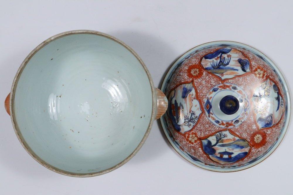TUREEN - Chinese Export Imari Decorated Round Lidded - 3