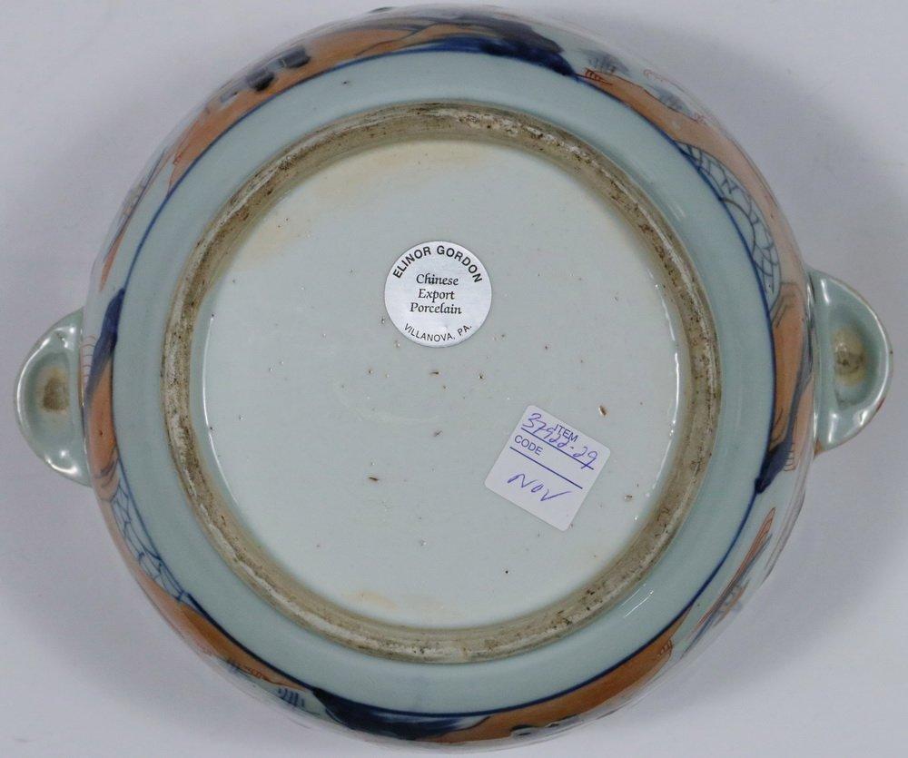 TUREEN - Chinese Export Imari Decorated Round Lidded - 4
