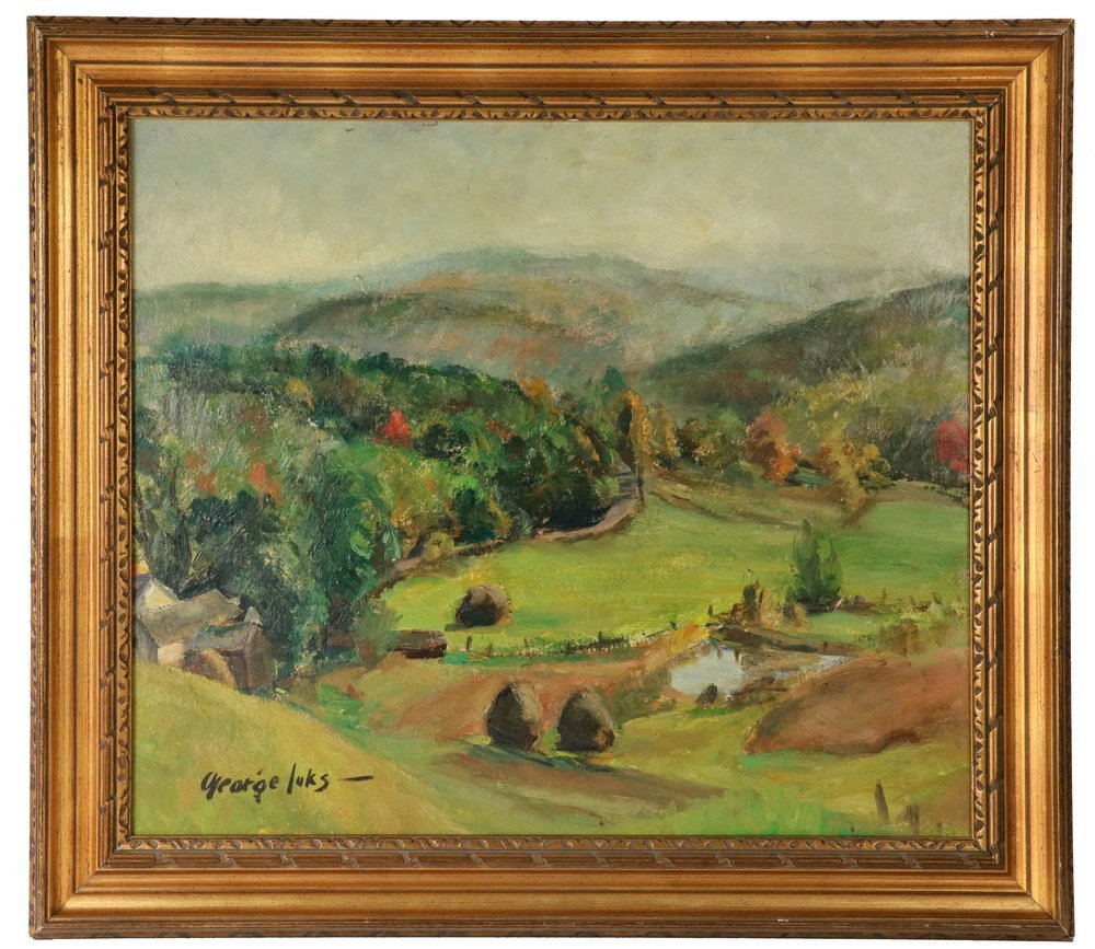 "GEORGE BENJAMIN LUKS (NY, 1867-1933) - ""Pennsylvania"