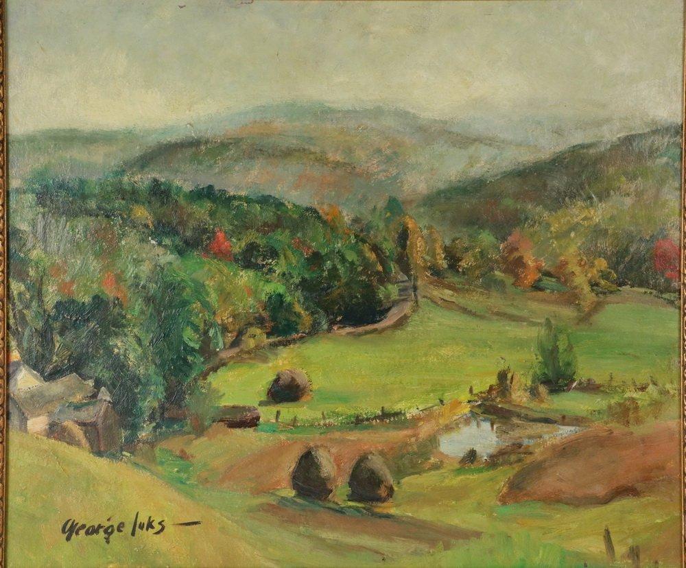 "GEORGE BENJAMIN LUKS (NY, 1867-1933) - ""Pennsylvania - 2"