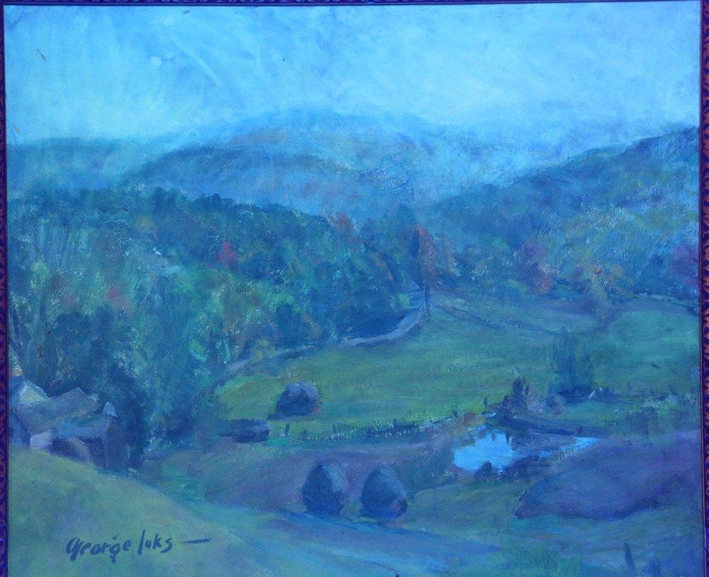 "GEORGE BENJAMIN LUKS (NY, 1867-1933) - ""Pennsylvania - 4"