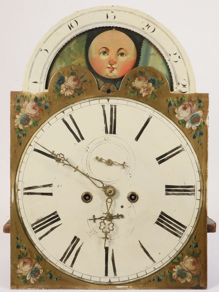 TALL CASE CLOCK - Country Chippendale Grandfather Clock - 2
