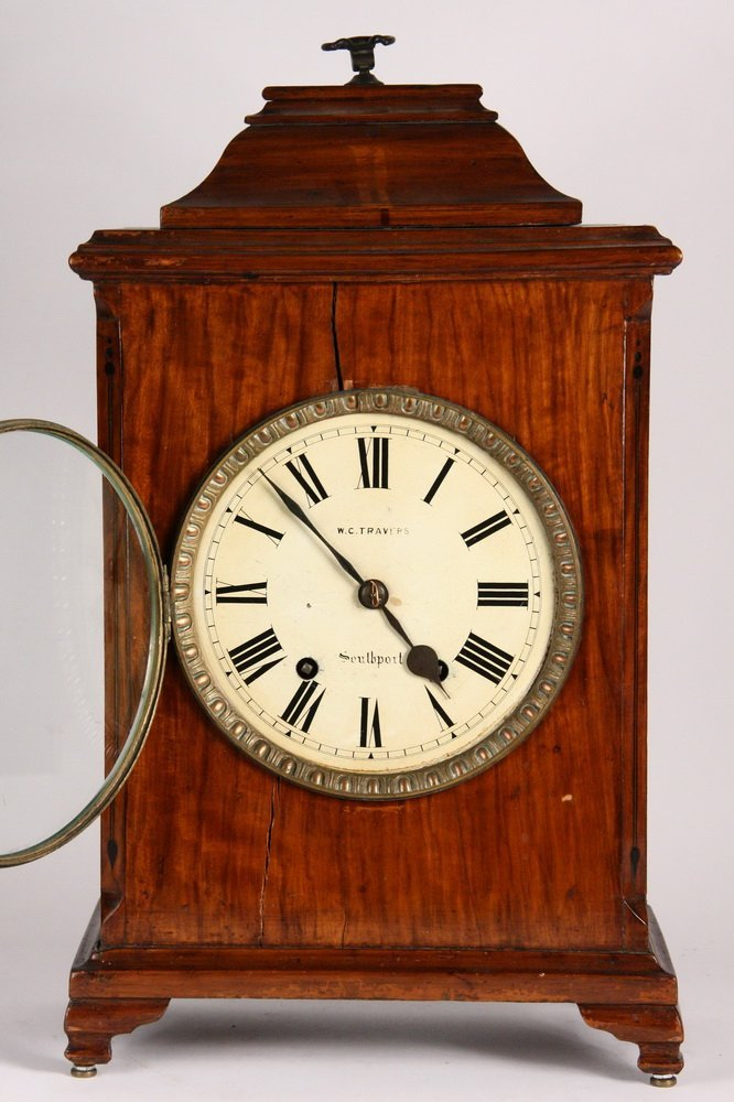 GERMAN BRACKET CLOCK - Gothic Revival Clock by - 3