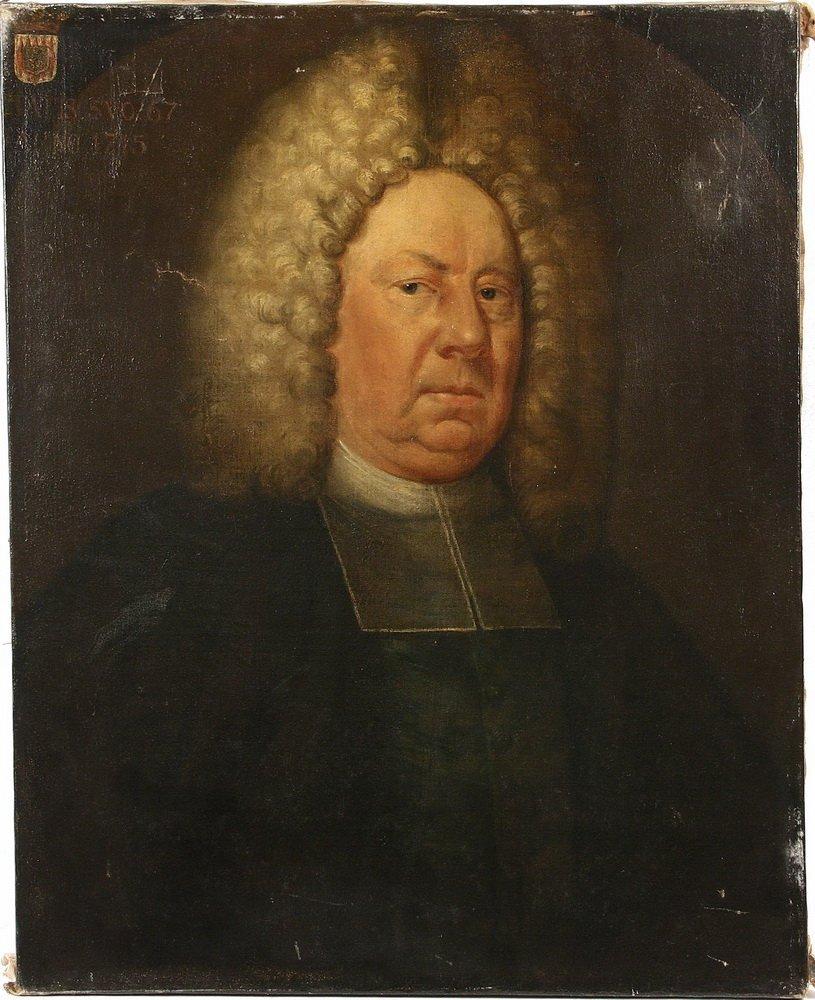 18TH C. ECCLESIASTICAL PORTRAIT - Bust Portrait of a - 2