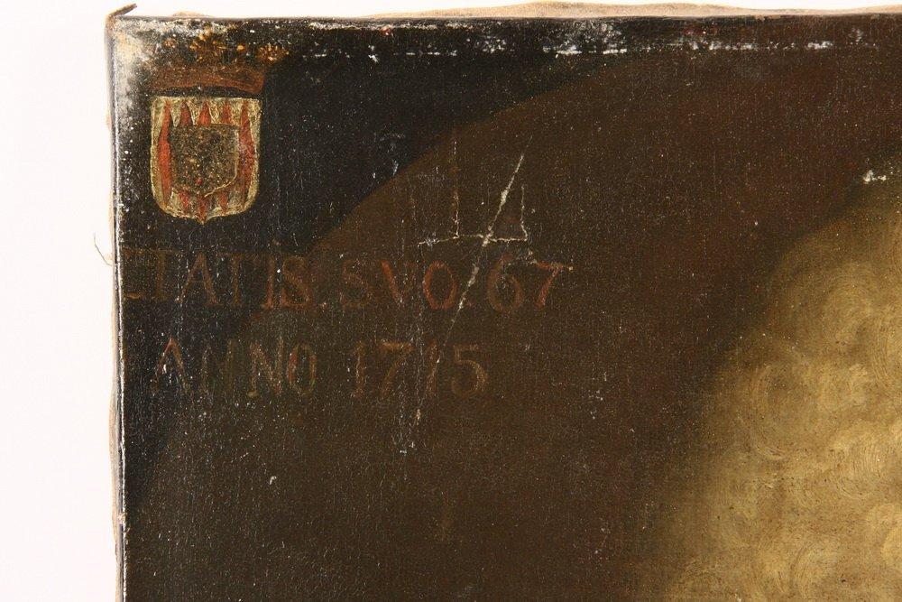 18TH C. ECCLESIASTICAL PORTRAIT - Bust Portrait of a - 3