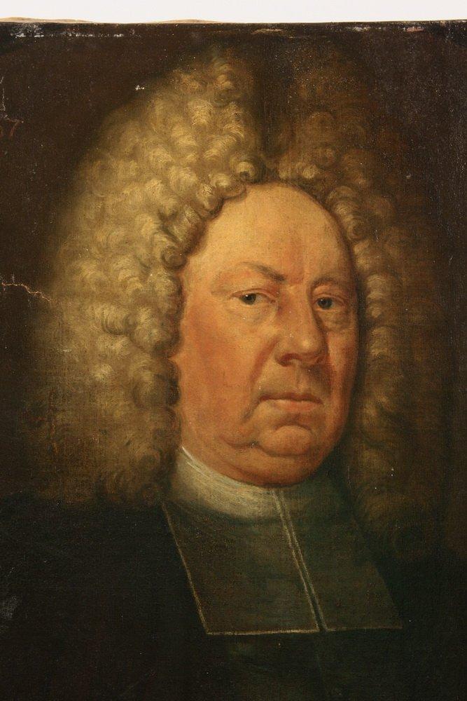 18TH C. ECCLESIASTICAL PORTRAIT - Bust Portrait of a - 4