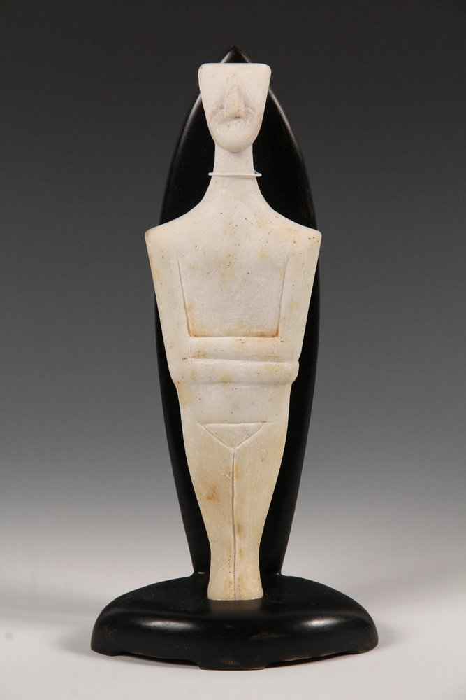 CYCLADIC FIGURE - Figurine of a Man, from Syros