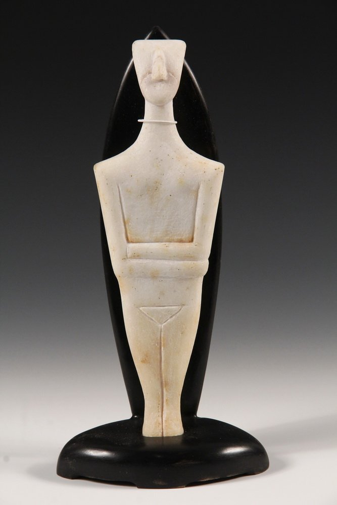 CYCLADIC FIGURE - Figurine of a Man, from Syros - 4
