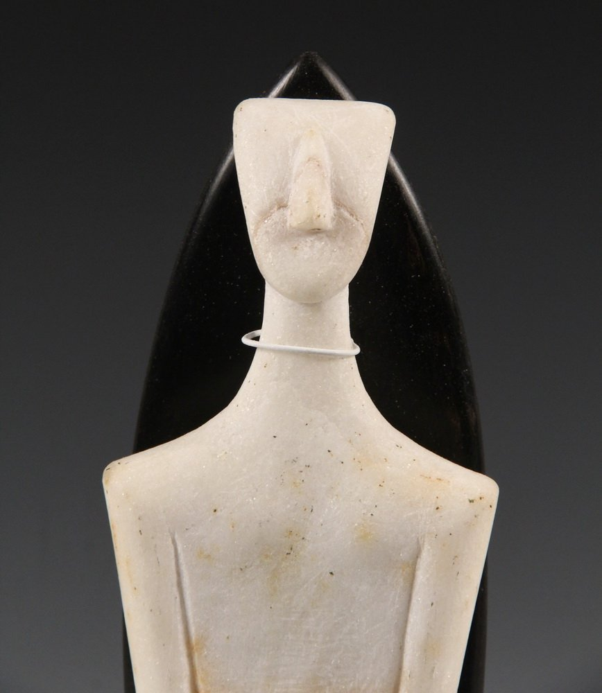 CYCLADIC FIGURE - Figurine of a Man, from Syros - 5