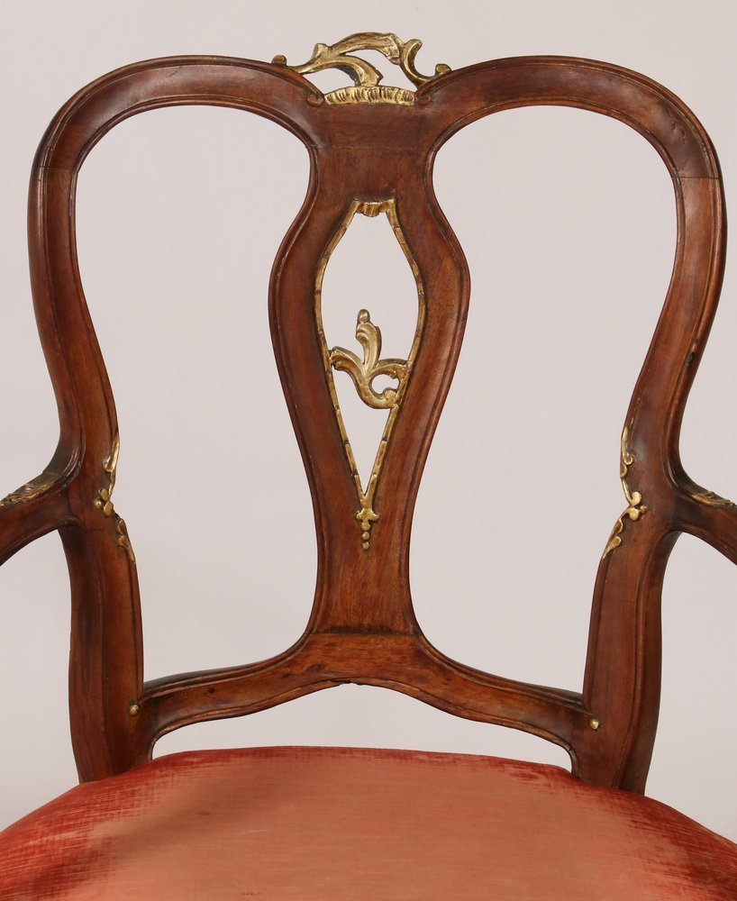 PAIR OF ARMCHAIRS - Pair of Early Continental Louis XV - 2