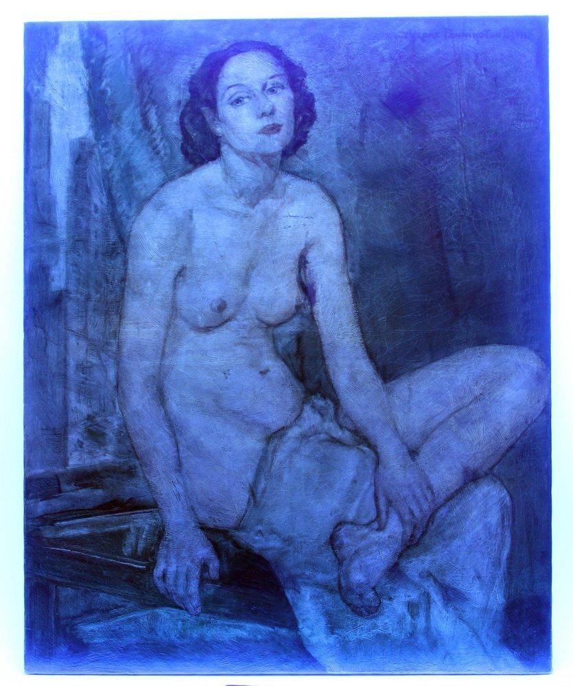 """JEROME PENNINGTON DEWITT (NY/NJ, 1895-1940) - """"Kay"""", - 6"""