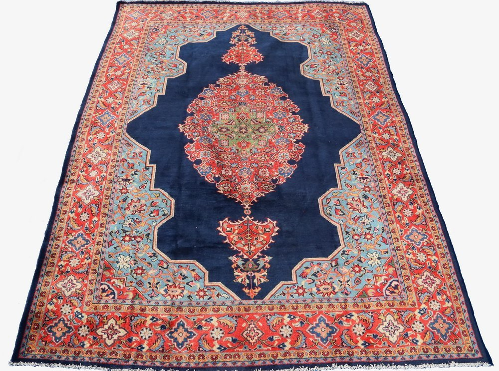 "KURDISH CARPET - 8'8"" x 12' - Northwest Persia,"