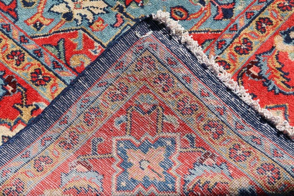"""KURDISH CARPET - 8'8"""" x 12' - Northwest Persia, - 6"""