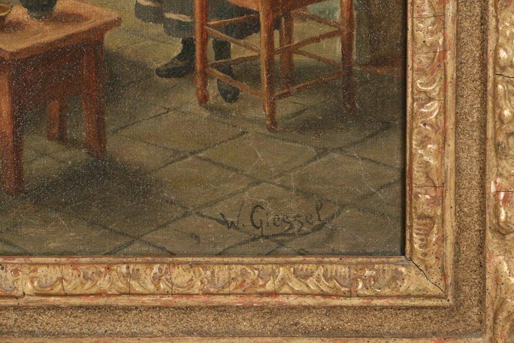 WILHELM F. GIESSEL (Austria, 1869-1938) - Two Tavern - 5