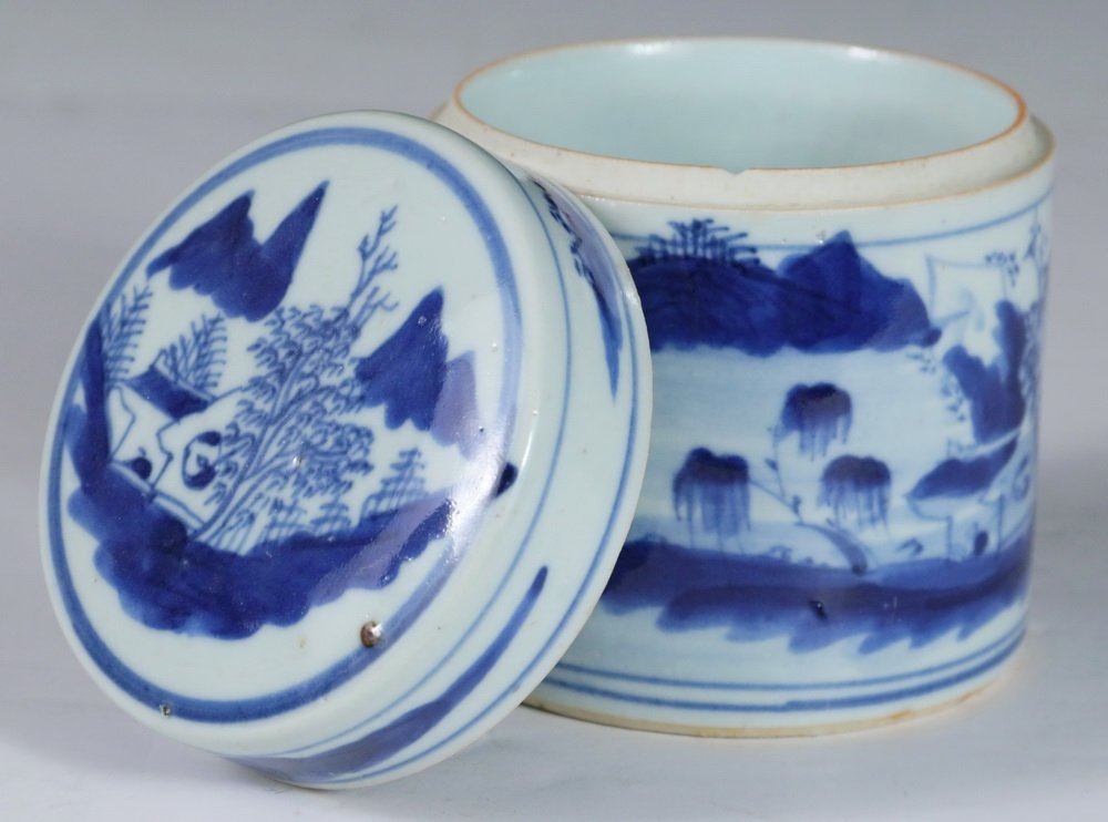 CHINESE BLUE & WHITE - Collection of (5) Pcs of 19th c. - 5